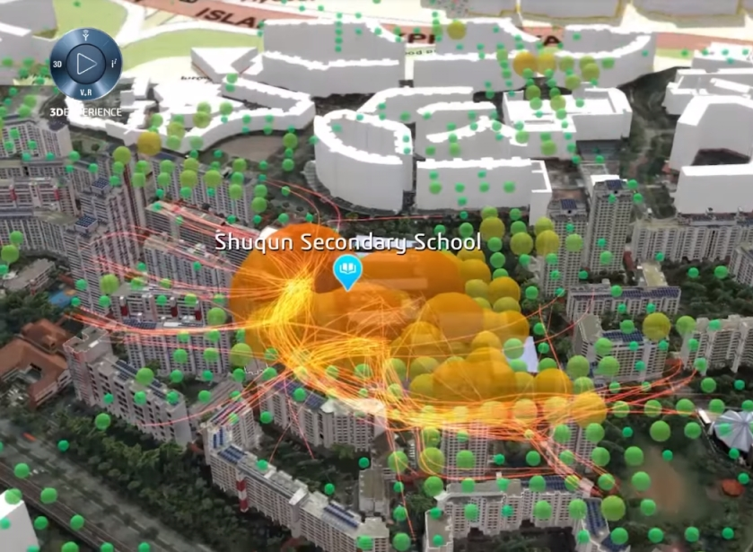 visualizing smart cities for a resilient future > 3DEXPERIENCity® > Dassault Systèmes®