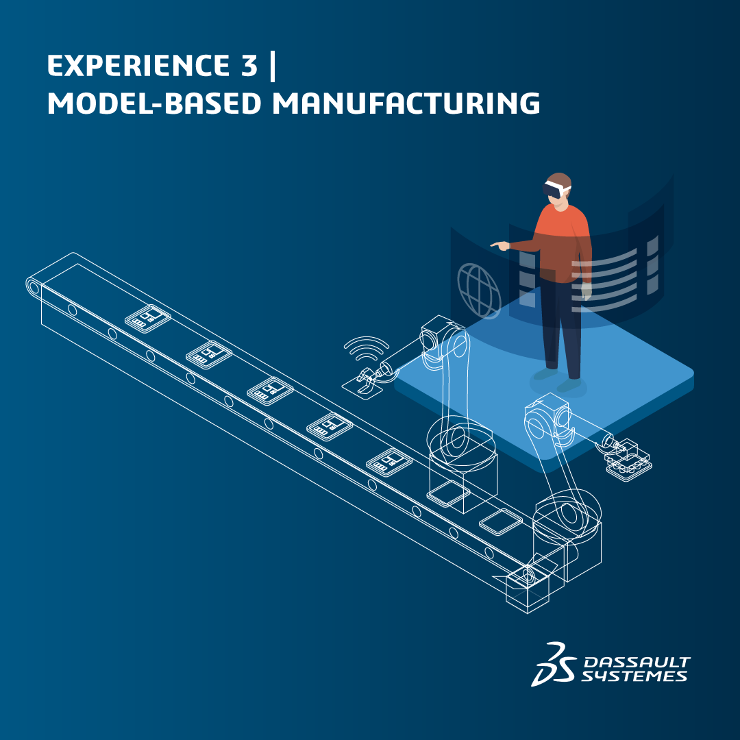 Experience 3 Model Based Manufacturing icon