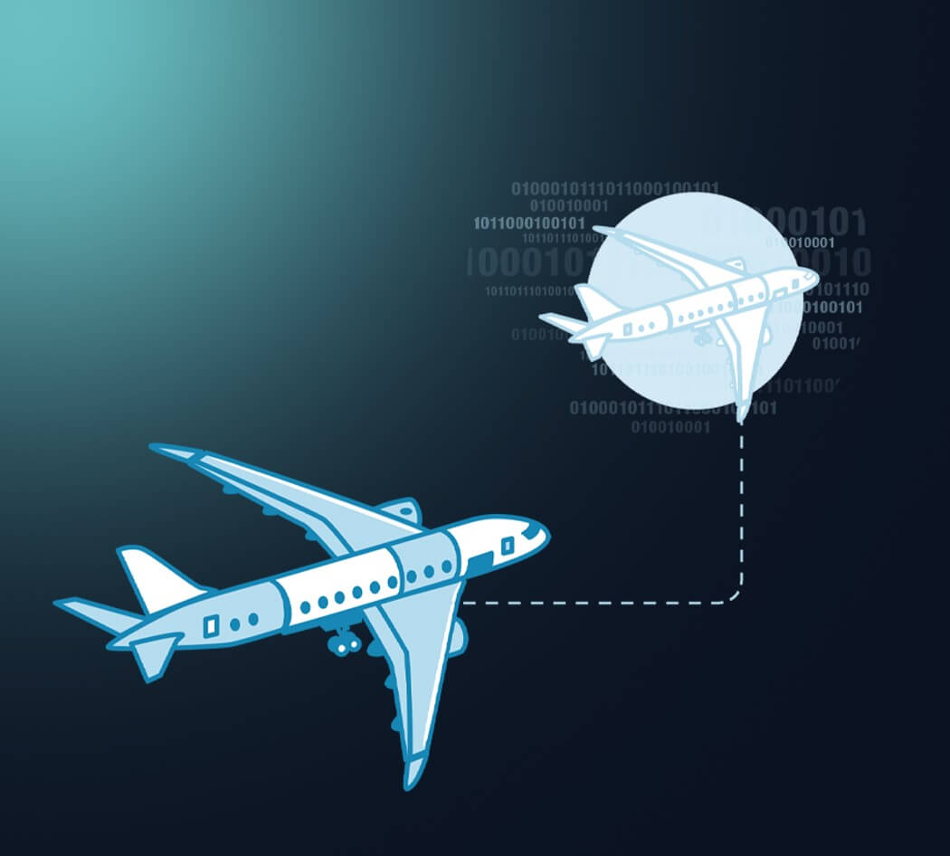 Harnesses Data as Source of Digital Change > Aeroplane Concept > Dassault Systèmes®