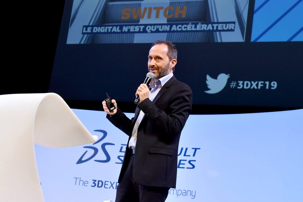 3DEXPERIENCE Forum France 2019 > Presenter on stage > Dassault Systèmes®