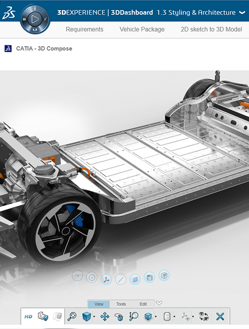Electro Mobility > Dassault Systèmes®