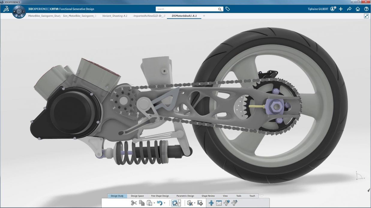 Optimize Your CATIA V5 Parts At the Touch of a Button > CATIA Functional Generative Design Graphic > Dassault Systemes®