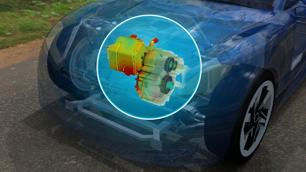 Optimizing Your Electric Drive Development Through Multiphysics Simulation > Car Engine Simulation > Dassault Systèmes®