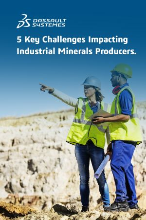 Industrial Minerals Mining > eBook cover > Dassault Systèmes®