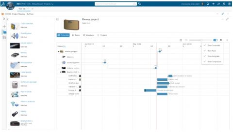 Perfect project planning with the Project Planner App > Image > Dassault Systèmes®
