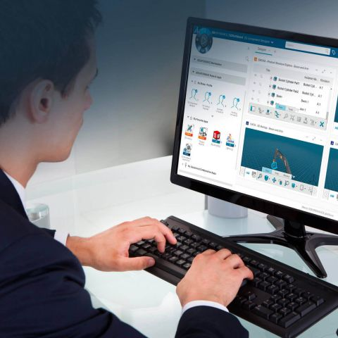 Collaborate More Efficiently with 3DEXPERIENCE ENOVIA > Image > Dassault Systèmes