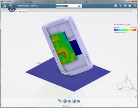 Accelerate virtual testing for improved product design with SIMULIA structural simulation solutions using Abaqus > Image > Dassault Systèmes®